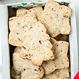 Pistachio-Chocolate Shortbread Cookies