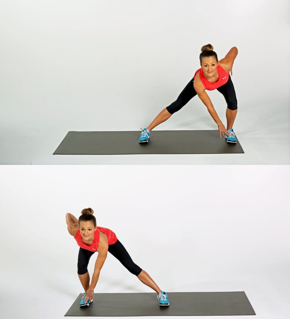 Sweeping Side Lunges
