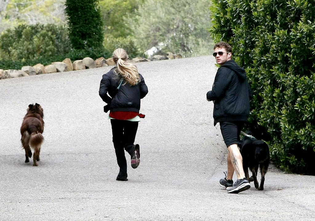 Ryan and Amanda Let Their Saturday Afternoon Go to the Dogs