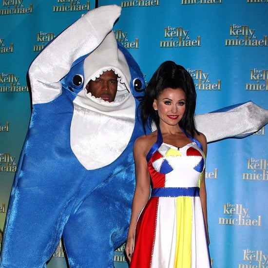 Kelly Ripa and Michael Strahan Halloween Costumes 2015