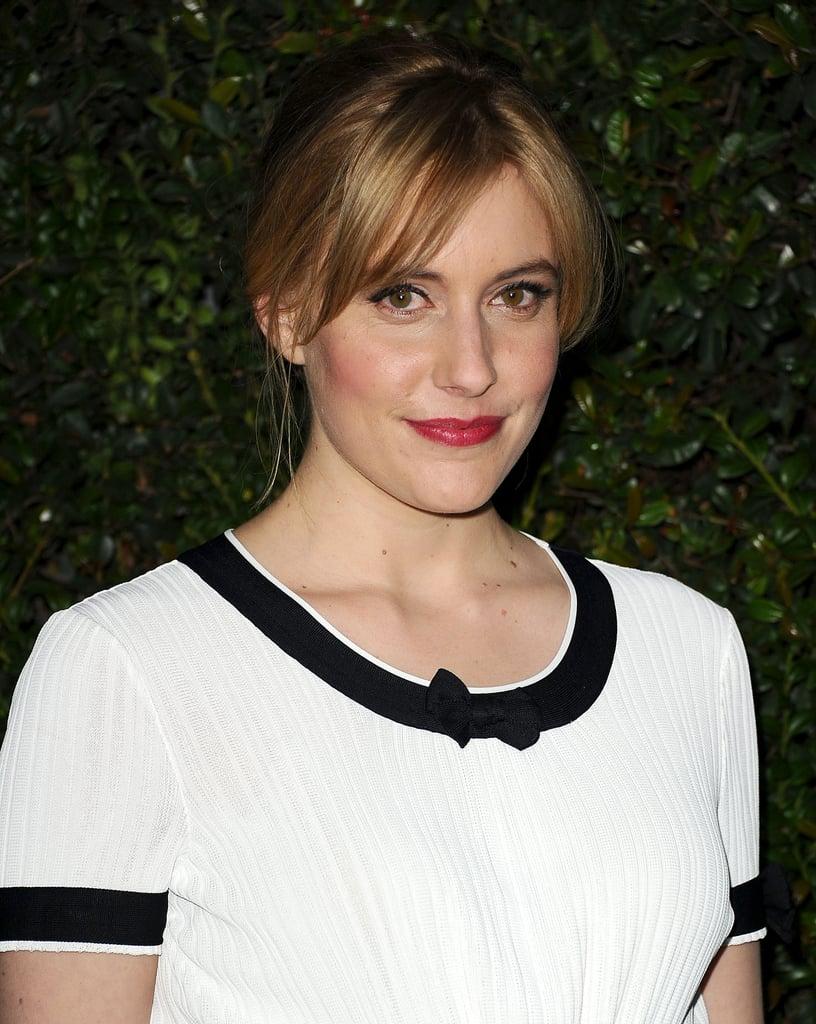 Greta Gerwig at Chanel Pre-Oscars Dinner