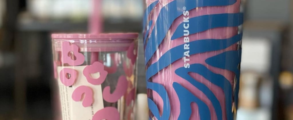 See Starbucks's New Pink Cheetah and Tiger Tumblers