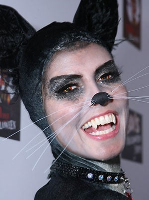Love It or Hate It?  Heidi Klum's Halloween Cat Makeup