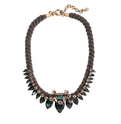 Step one, buy. Step two, wear with everything. This Spiky Rope necklace ($128) makes it that easy to outfit a statement-worthy look.