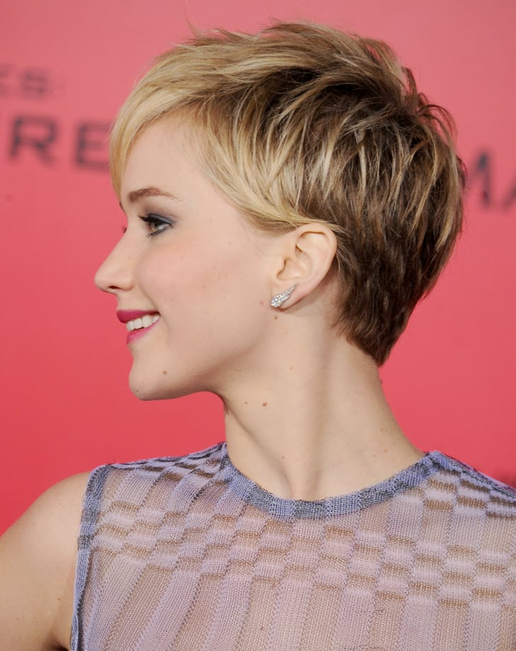 Jennifer Lawrence S Pixie Jennifer Lawrence Growing Out