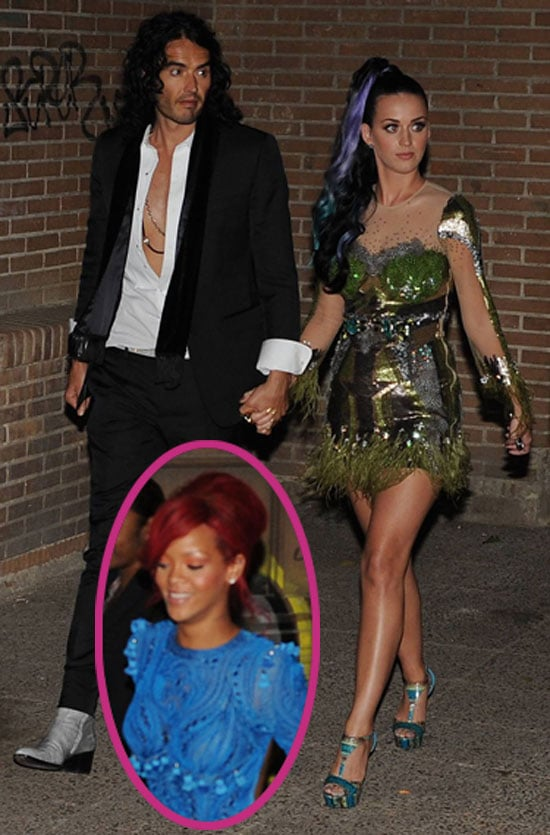 Pictures of Rihanna, Katy Perry, Russell Brand After MTV EMAs
