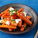 Side Dish: Maple-Roasted Carrots With Goat Cheese