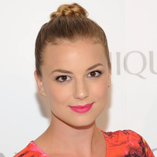 Emily VanCamp Lipstick at Clinique Event