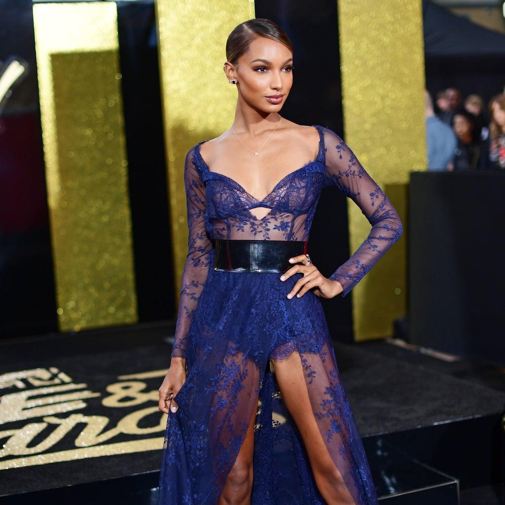 Jasmine Tookes MTV Movie Awards Dress 2017