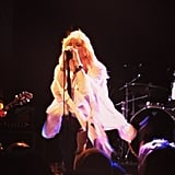 Busy Philipps (and her inner 15-year-old) went back to the '90s for a Courtney Love performance.  Source: Instagram user busyphilipps
