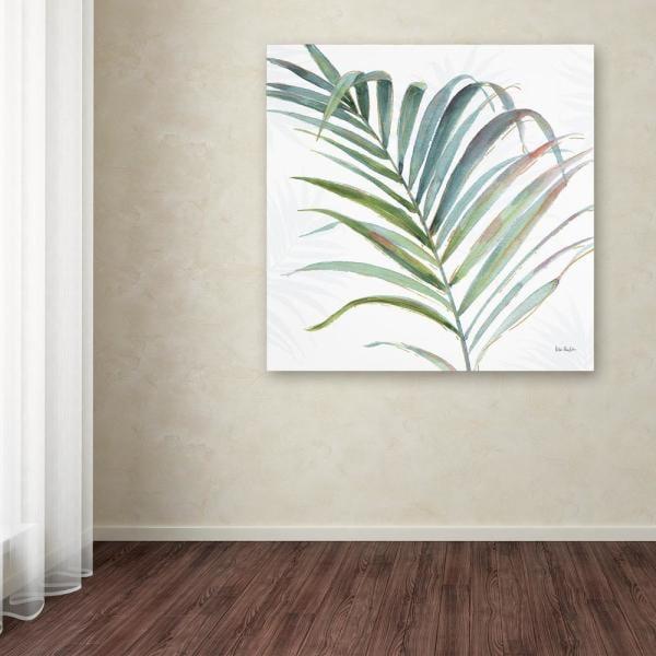 "Trademark Fine Art ""Tropical Blush V"" by Lisa Audit Printed Canvas Wall Art"