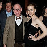 Amy Adams posed with James Shamus.