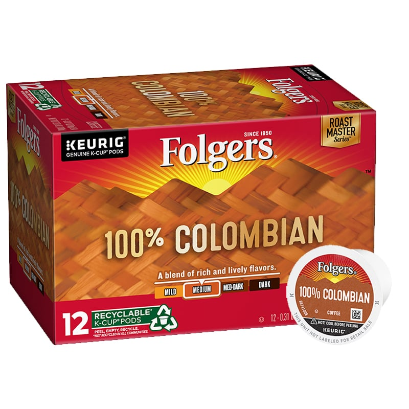 Folgers Colombian K-Cup Pods