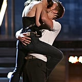 Ryan and Rachel staged an unforgettable smooch while accepting their Best Kiss award at the 2005 MTV VMAs.