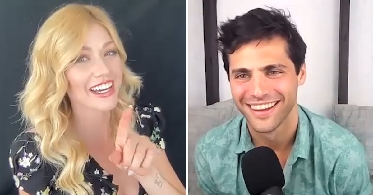 """Matthew Daddario and Katherine McNamara Play a Hilarious Game of """"Who's Most Likely To"""""""