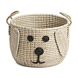 Dog Face Storage Basket