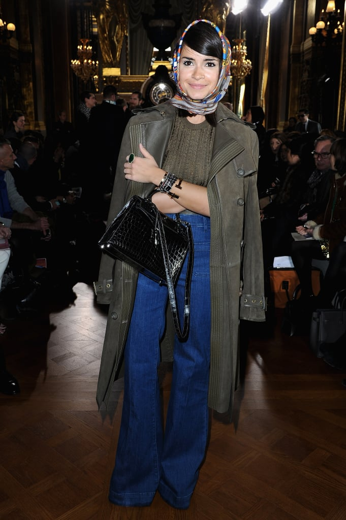 Miroslava Duma at Stella McCartney.