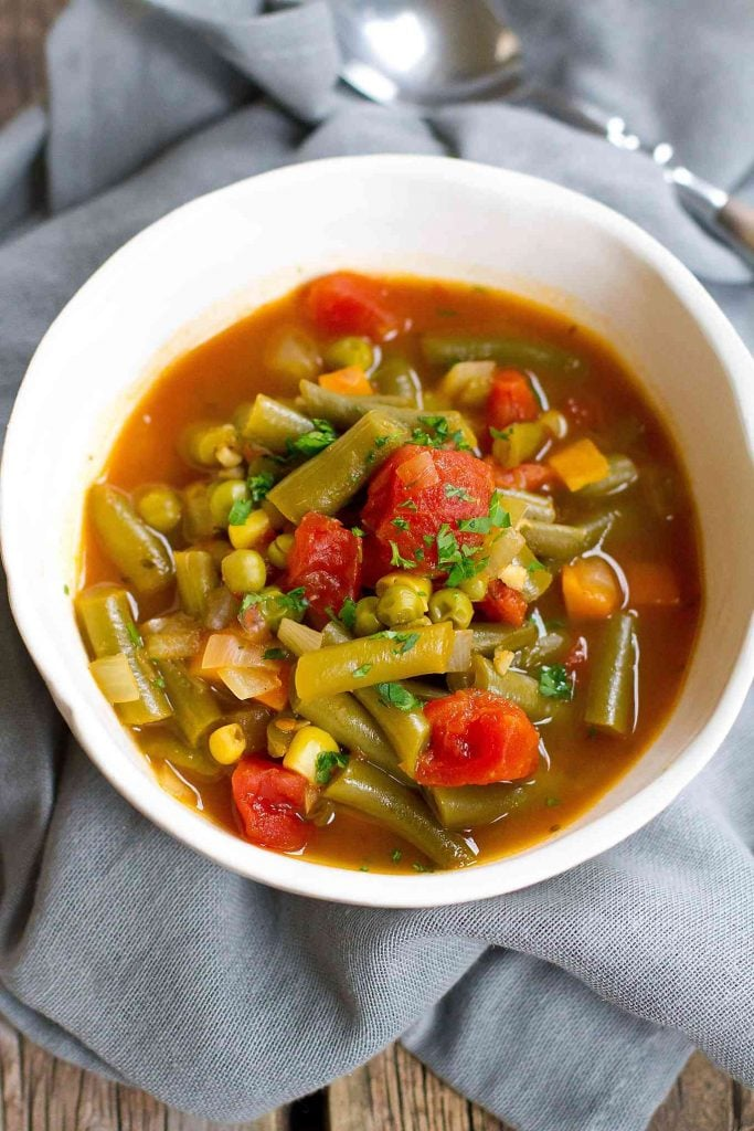 Instant Pot Vegetable Soup Instant Pot Recipes For Weight Loss
