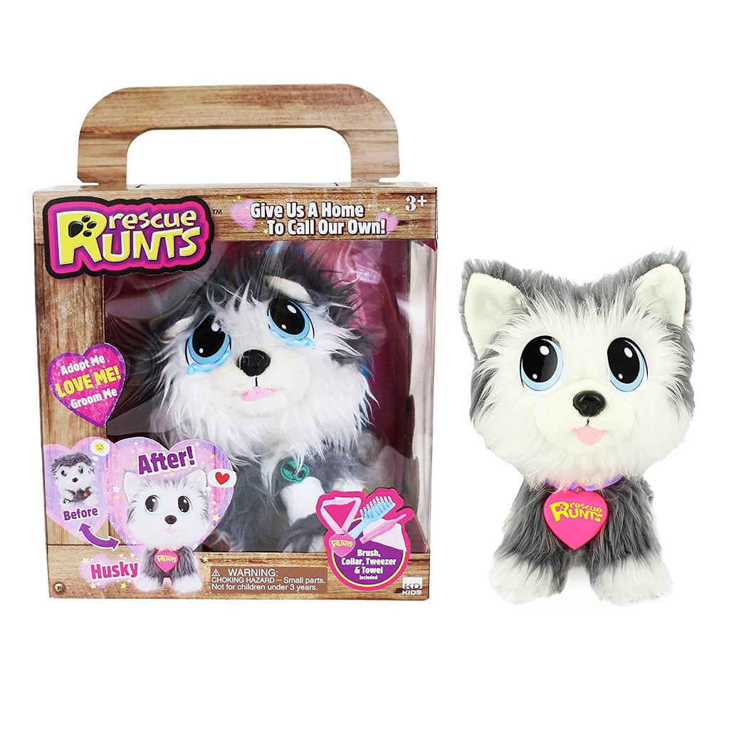 Rescue Runts Husky Plush Dog