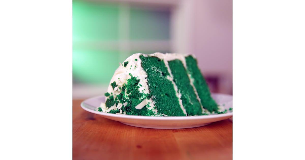 Green Velvet Cake Recipe | POPSUGAR Food