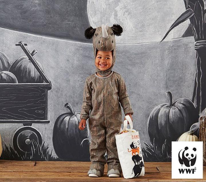 Black Rhino Costume