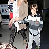 Kate Hudson and her boys wrapped up a trip to Miami.