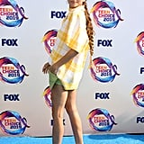 Zendaya at the 2019 Teen Choice Awards