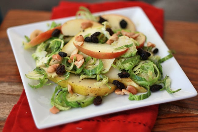Harvest Salad with Maple Poppy Seed Dressing