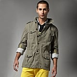 Michael Bastian Washed Military Jacket, $1,555