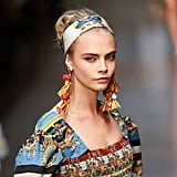 September 2012: Spring Summer Milan Fashion Week Dolce & Gabbana