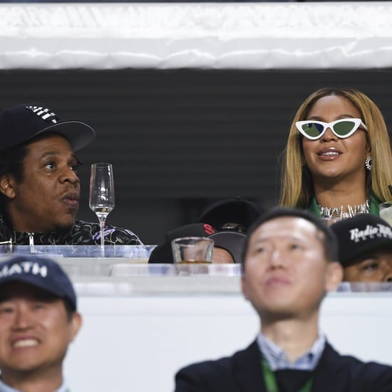 Beyoncé and JAY-Z Sat During National Anthem at Super Bowl