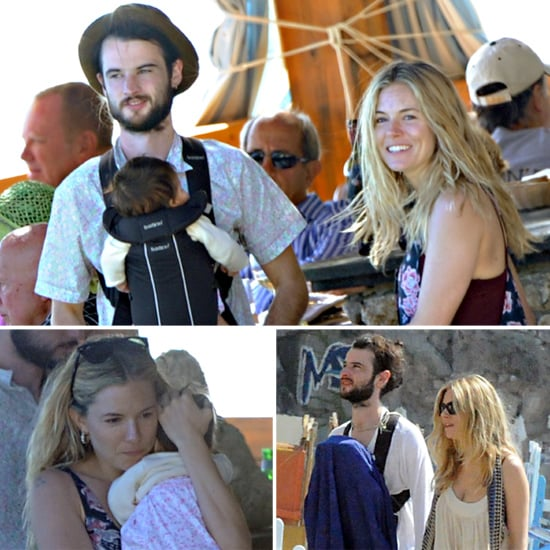 Exclusive — Sienna and Tom Get Away to Italy With Baby Marlowe