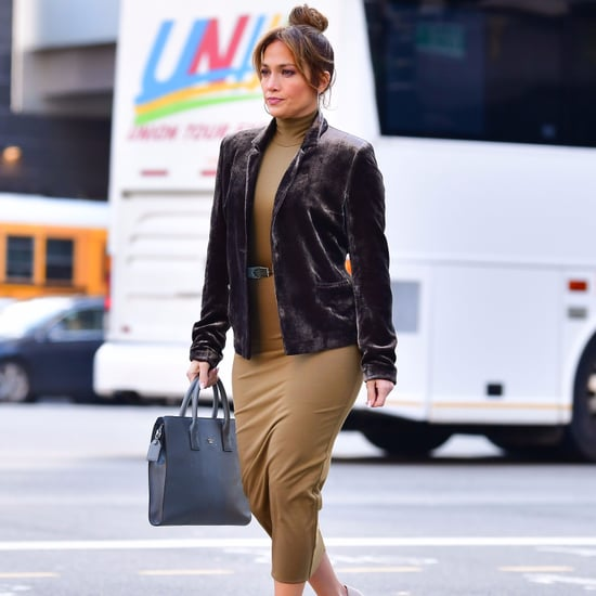 Jennifer Lopez Wearing UGG Boots in New York City