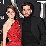 Kit Harington Rose Leslie at Game of Thrones Premiere 2019