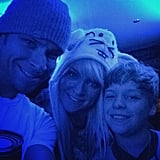 Brian Littrell's Family Pictures on Instagram