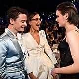 Noah Schnapp, Millie Bobby Brown, and Joey King at the 2020 SAG Awards