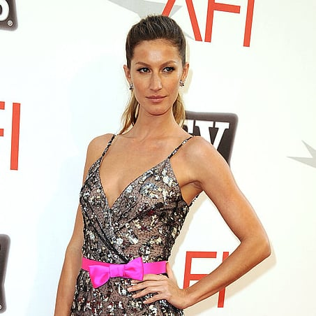 Gisele Bundchen Pictures At Morgan Freeman AFI Honors Event