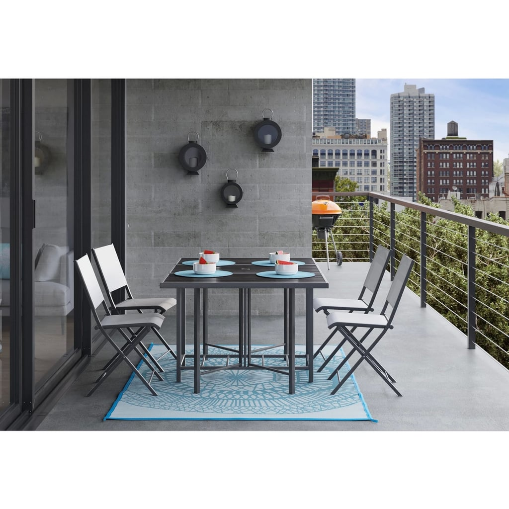 Taget Furniture: Bryant Outdoor Stowable Patio Dining Set