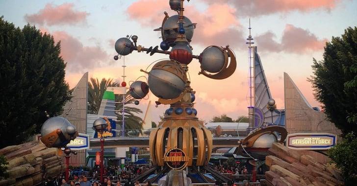 Why Tomorrowland In Disneyland Is The Best Popsugar Smart Living