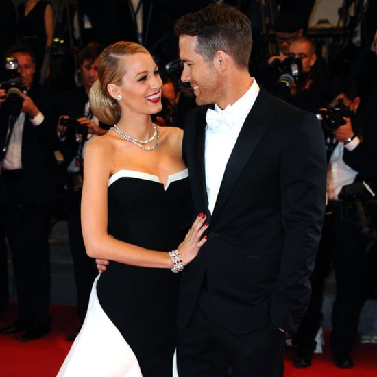 Blake Lively Touching Ryan Reynolds's Chest Pictures
