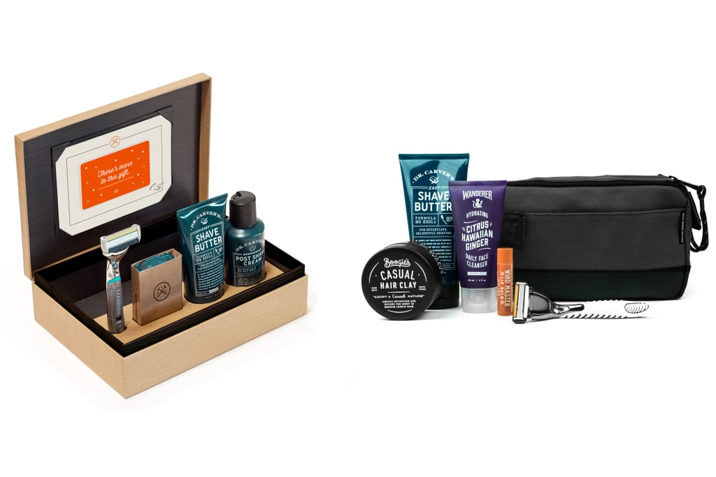 """Dollar Shave Club's Holiday Shave Set is the perfect gift for a vendor because it keeps you top of mind every month. You hand them a fancy first box, and then they take over the subscription from there. Plus, if you get them a year of the Executive, we're throwing in our new DSC Traveler on the house."" DSC Holiday Shave Set + Traveler ($140)"