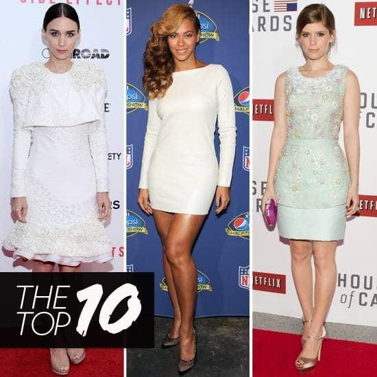 Beyoncé, Rooney, and Kate Mara Lead This Week's Style Pack