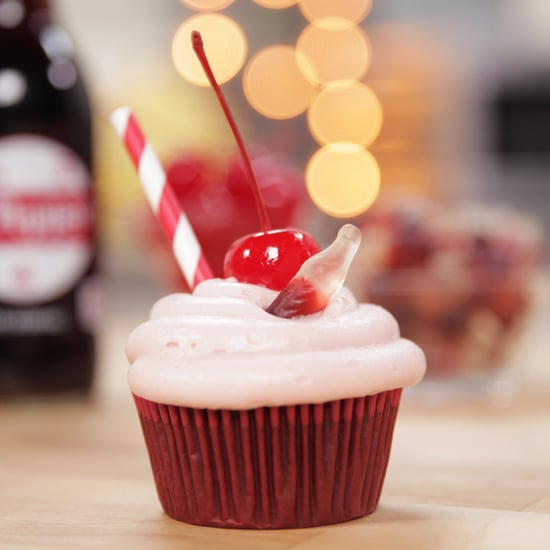 Cherry Dr Pepper Cupcakes