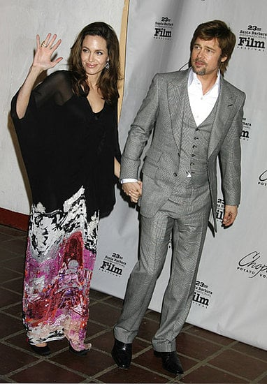 Brangelina Flowed Down the Brick Carpet