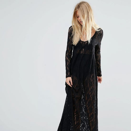 Best Gothic Black Maxi Dresses