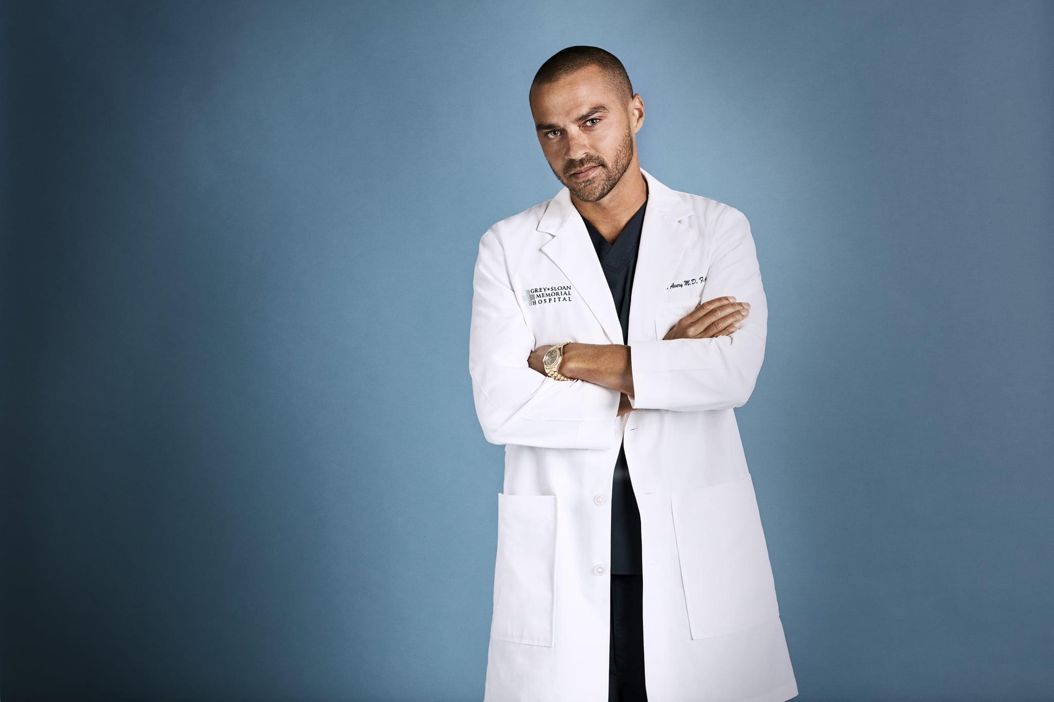 GREYS ANATOMY - ABCs Greys Anatomy stars Jesse Williams as Jackson Avery. (ABC/Mike Rosenthal)JESSE WILLIAMS