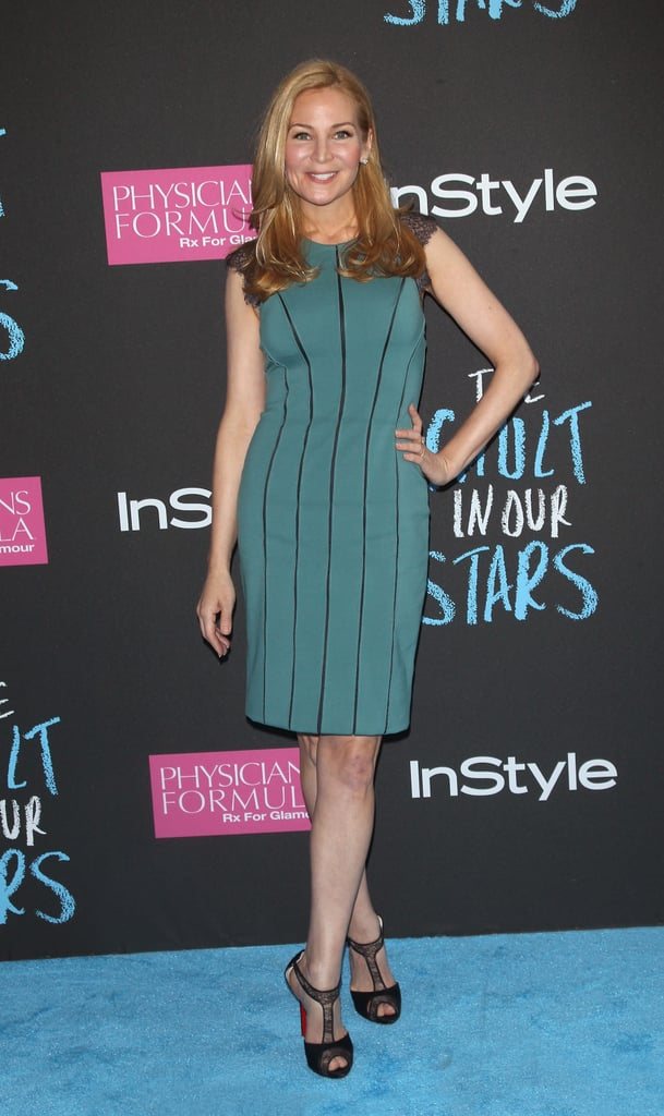 Jennifer Westfeldt looked gorgeous in green.