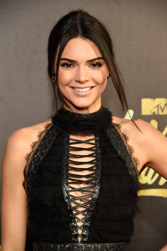 Kendall Jenner Hair MTV Movie Awards