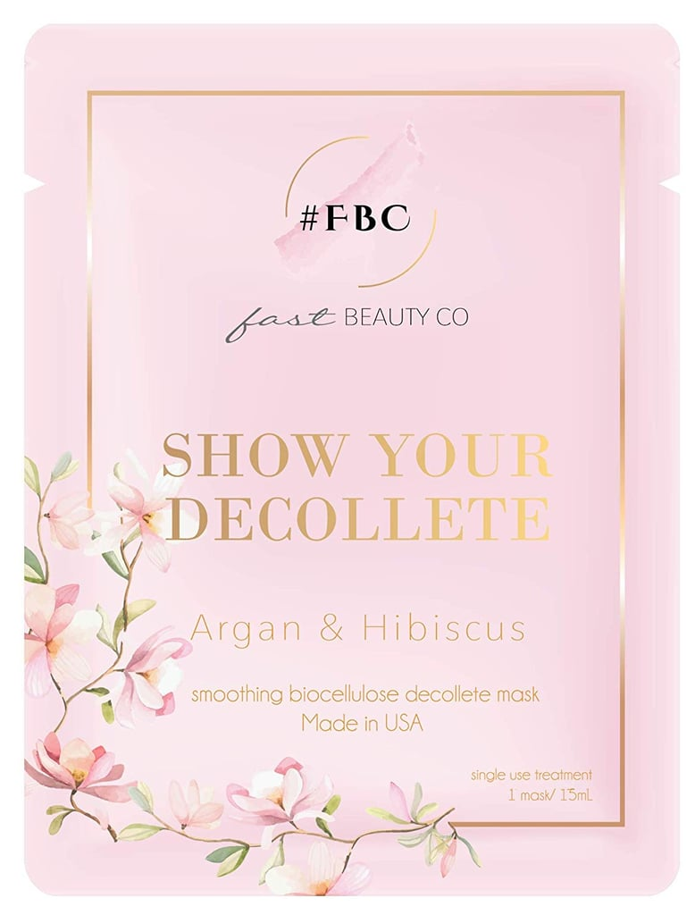 Fast Beauty Co. Smoothing Biocellulose Decollete Mask
