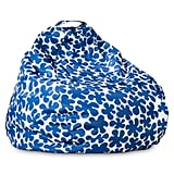 Appelsiini print bean bag in blue ($60)